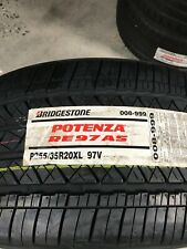 2 New 255 35 20 Bridgestone Potenza RE97 AS Tires