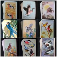Vintage Playing Cards Birds Pack Deck 1930s - 1980s Various Design Backs