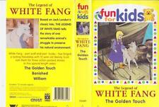 THE LEGEND OF WHITE FANG THE GOLDEN TOUCH ABC  VHS VIDEO PAL~A RARE FIND