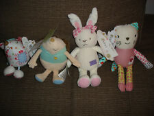 BNWT MARKS AND SPENCER M&S EMILY BUTTON MOUSEY CHESTER PETAL BOBBLE SOFT TOYS