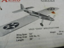 AERO CHIEF Control Line Vintage Balsa Kit
