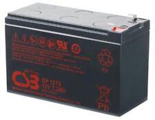 "New 2018 CSB 12v 7.2Ah Sealed Lead Acid Battery GP1272 F2/0.25"" Terminals"