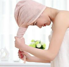 Microfiber Soft Hair Dry Caps Comfortable Bath Towels Head Bathroom Accessory