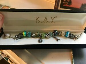 Kay Jewelers Fine Charms Charm Bracelets For Sale Ebay