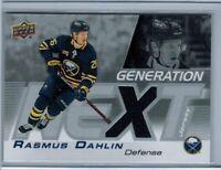 2019-20 Upper Deck Series 1 - Generation NEXT Jersey - Rasmus Dahlin #GN-5