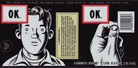Coca-Cola Collectible OK Soda 1994 Retro Art Bottle Label