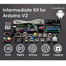 Gravity: Intermediate Kit for Arduino! Useful sensors & devices in one pack