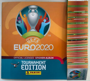 Panini Euro 2020 2021 Tournament stickers #455-678