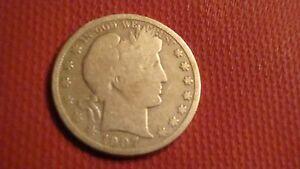 1907-P Barber Liberty Head Half Dollar (ref#1)