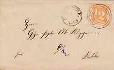 Thurn und Taxis, Brief aus Nenndorf nach Rinteln, Michel Nr. 28
