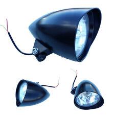 BLACK Headlight Head Light Lamp For Harley Davidson Chopper FXEF Rocker