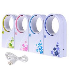 Portable Mini Fans No Leaf Fan Bladeless Refrigeration Desktop Air Conditioner