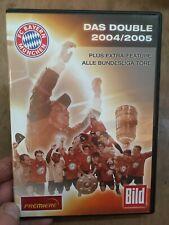 FC Bayern Munich:The Double 2004/2005 Season Review(R2 DVD)Munchen No Subtitles