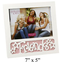 """Glitter Picture Photo Frame 7"""" x 5"""" - Available in DAD - LOVE - FAMILY - FRIENDS"""