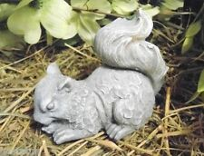 Latex squirrel Mold Plaster mold cement mold