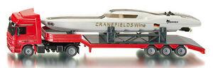 Siku Super 3936 Mercedes-Benz Actros Truck + Cranefields Wine Power Boat Model