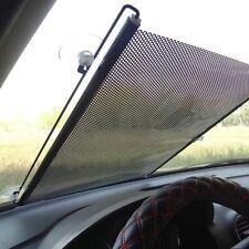 58 x 125 Retractable Car Auto Front Rear Windshield Sun Shade Cover Shield Visor