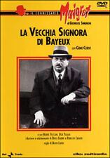 DVD - IL COMMISSARIO MAIGRET - GINO CERVI – LA VECCHIA SIGNORA DI BAYEU -ELLEU -