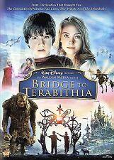 Bridge to Terabithia (DVD, 2007, Full Frame) Brand New Sealed Disney Kids Movie