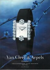 PUBLICITE ADVERTISINGI 2010 VAN CLEEF & ARPELS montre