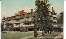 Early 1900's Mountain Park Hotel near Asheville, NC North Carolina PC