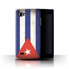STUFF4 Case/Cover for LG Optimus 4X HD P880/Americas Flag/Cuba/Cuban
