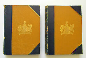 1886  Badminton Library of Sport – Shooting - Two Volumes – Deluxe 1st ed. 1886
