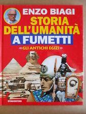 Storia dell' Umanità a Fumetti Biagi vol. 2 Copertina di Sergio Toppi  [G508]