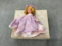 Vintage Nancy Ann Storybook Doll Princess Rosanie 162 w/ Original Box
