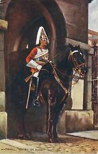 POSTCARD  MILITARY  Sentry on Guard   Whitehall      Tuck