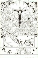 World's Finest #21 p.12 - Superman and Power Girl - 2014 art by RB Silva & Weems