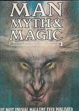 "Man,Myth,Magic Issue #1-1970-""The Most Unusual Magazine Ever Published"""