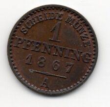 Germany - Preussen / Prussia - 1 Pfennig 1867 A