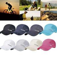 Fashion Summer Men Breathable Outdoor Sports Baseball Running Mesh Hat Cap M5B9