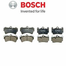 FOR Front & Rear Brake Pads Bosch For Audi Q7 Porsche Cayenne Volkswagen Touareg