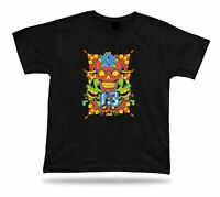 Tshirt Tee Shirt Birthday Gift Idea Good Luck Sugar Skull 13 Lucky Flower Bone