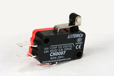 2 Pc Temco Micro Limit Switch Short Roller Lever Arm Spdt Snap Action Home Lot