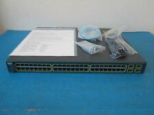 Cisco WS-C3560-48PS-E 48-Ports Layer 3 POE Switch 1 YEAR WARRANTY