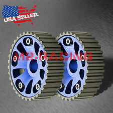 Twin Cam Gear For Honda B-Series Engine Adjustable Racing Integra Civic Crx Blue