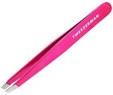 Tweezerman Slant Tweezer - Neon Pink  -NEW FULL SIZE