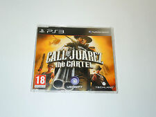 CALL OF JUAREZ THE CARTEL Promo PS3 Sony Playstation 3 videogame