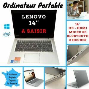 "Ordinateur Portable Laptop 14"" Lenovo Ideapad 64GO HDMI Micro SD Wifi-Bluetooth"