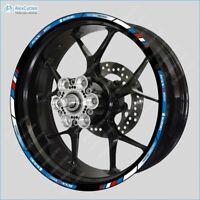 SUZUKI GSX R1000 Racing Laminated Wheel Decals Rim Stickers Stripes Kit