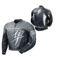 SUZUKI HAYABUSA Racing Biker Motorcycle Leather Jacket Motorbike Leather Jackets