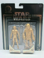 Star Wars Commemorative Edition Skywalker Saga Gold Luke Skywalker Chewbacca