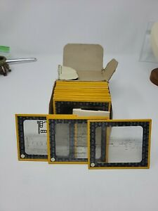 Vintage Collection Of Texas Instruments Semiconductor Manufacturing Slides