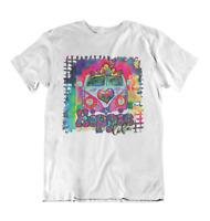 Hippie Van Groovy Shirt Unisex Adult Tee