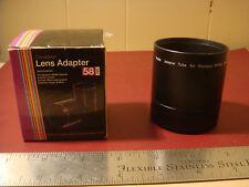 Vivitar Lens tube adapter for Olympus SP590 camera 58MM
