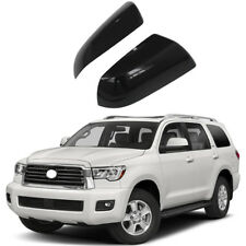 Mirror Covers for 2007-2018 Toyota Sequoia &Tundra Side View Covers Gloss Black