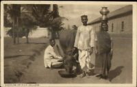 Native Life India? Ethnography c1910 Postcard GOWALAS or MILK SELLERS